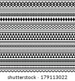 seamless geometric pattern in... | Shutterstock . vector #179113022