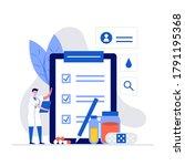pharmacy and prescription... | Shutterstock .eps vector #1791195368