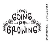 lettering typography quote...   Shutterstock .eps vector #1791213455