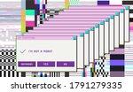 retrofuturistic cyberpunk style ...   Shutterstock .eps vector #1791279335