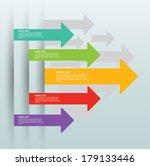 arrows vector | Shutterstock .eps vector #179133446