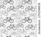 a lot of classic bicycles ... | Shutterstock .eps vector #1791548078