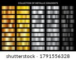 gold  bronze  silver and black... | Shutterstock .eps vector #1791556328
