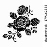 rose motif flower design... | Shutterstock .eps vector #179162558