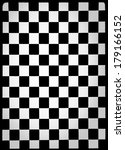 black and white checkered... | Shutterstock . vector #179166152