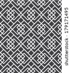 vector abstract black and white ... | Shutterstock .eps vector #179171495