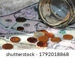 American Dollars In Banknotes...