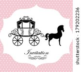 horse design over dotted...   Shutterstock .eps vector #179202236
