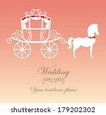 horse design over white... | Shutterstock .eps vector #179202302