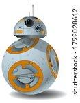 vector spherical robot in... | Shutterstock .eps vector #1792028612
