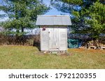 Small Farm Outhouse Building...