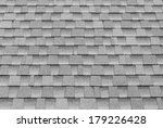 gray tiles roof for background. | Shutterstock . vector #179226428