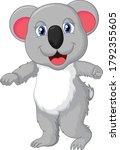 Koala Cartoon Vector Art And...