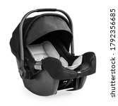 Black Baby Carrier Isolated On...