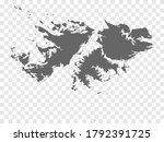 blank map falkland islands....