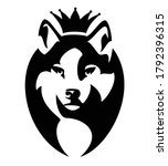 Wolf Wearing King Crown   Roya...