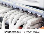 Close Up Of A Gigabit Ethernet...