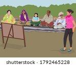 vector illustration of basic... | Shutterstock .eps vector #1792465228