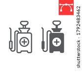Disinfection Pressure Sprayer...