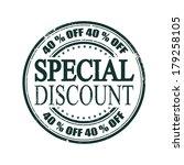 special discount grunge stamp... | Shutterstock .eps vector #179258105