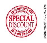special discount grunge stamp...   Shutterstock .eps vector #179259128