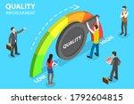 3d isometric flat vector... | Shutterstock .eps vector #1792604815