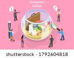 3d isometric flat vector... | Shutterstock .eps vector #1792604818