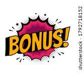 stylish colorful retro comic...   Shutterstock .eps vector #1792718152