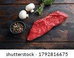 Whole tri tip steak with fresh...
