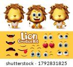 lions animal characters... | Shutterstock .eps vector #1792831825
