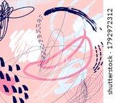 creative doodle art header with ... | Shutterstock .eps vector #1792972312
