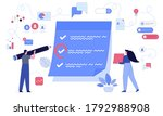 effective time planning and... | Shutterstock .eps vector #1792988908