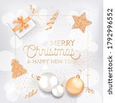 merry christmas and happy new...   Shutterstock .eps vector #1792996552