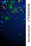 streamers and confetti....   Shutterstock .eps vector #1793004658