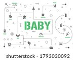 baby care word concepts banner. ...