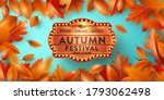 autumn poster and banner... | Shutterstock .eps vector #1793062498