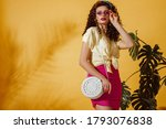 Summer Fashion Concept  Woman...