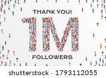 1m followers. group of business ... | Shutterstock .eps vector #1793112055