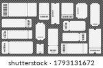 realistic 3d detailed empty...   Shutterstock .eps vector #1793131672
