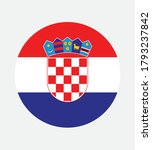 national croatia flag  official ... | Shutterstock .eps vector #1793237842