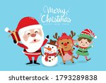 merry christmas and happy new... | Shutterstock .eps vector #1793289838