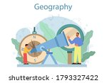 geography class concept.... | Shutterstock .eps vector #1793327422