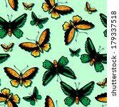 seamless pattern with bright... | Shutterstock .eps vector #179337518
