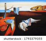 oil painting salvador dali copy