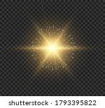 sun flare.beautiful bright... | Shutterstock .eps vector #1793395822