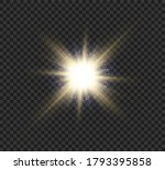 sun flare.beautiful bright... | Shutterstock .eps vector #1793395858