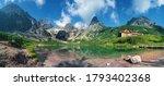 High Tatras And The Zelene...