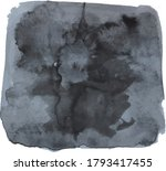 watercolor painted background...   Shutterstock .eps vector #1793417455