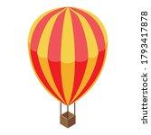 breakthrough air balloon icon....   Shutterstock .eps vector #1793417878