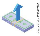 breakthrough cash money icon....   Shutterstock .eps vector #1793417905